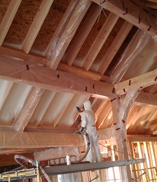 Bend Spray Foam Insulation